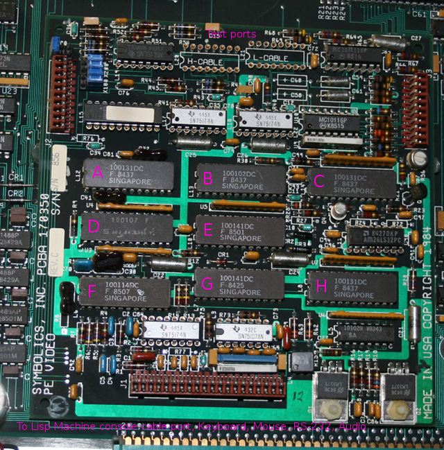labeled PE decoder board